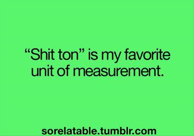 a units of measurements