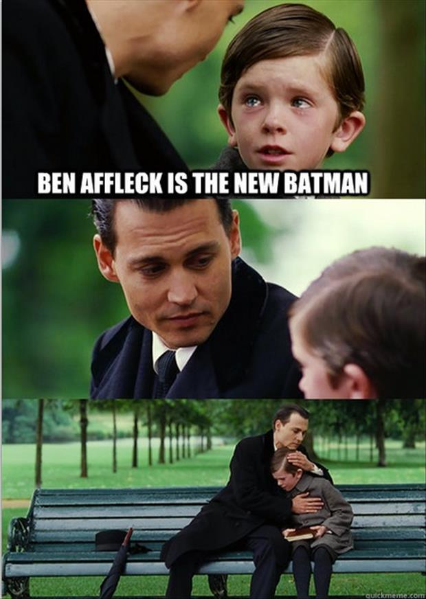 ben affleck at batman funny pictures (3)