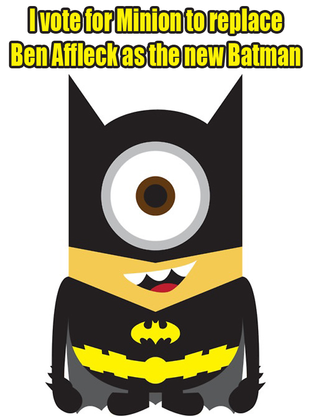 ben affleck at batman funny pictures (9)