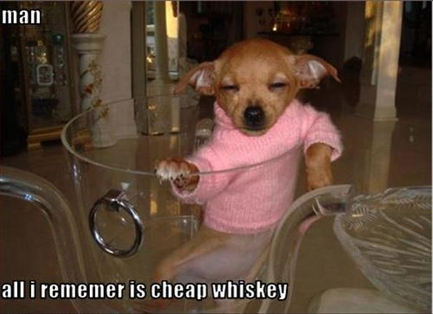 cheap whiskey