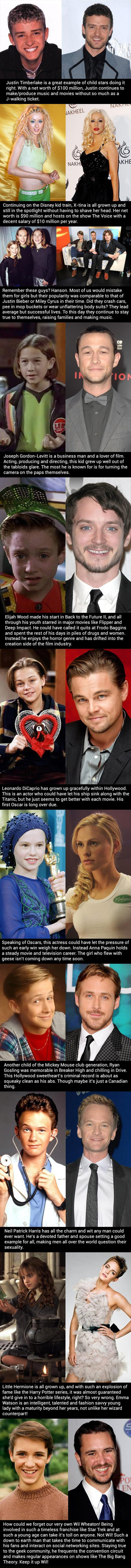 child stars who turned out fine