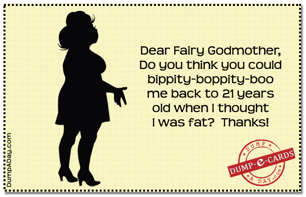 dear fairy godmother Dump E-card