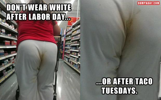 don't wear white after labor day