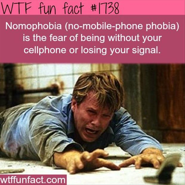 fear of being without your cell phone
