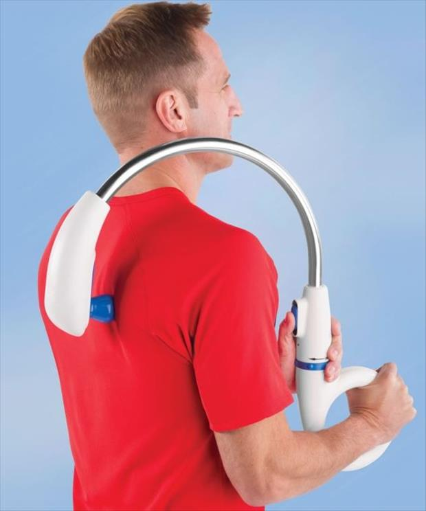 forever alone back massager