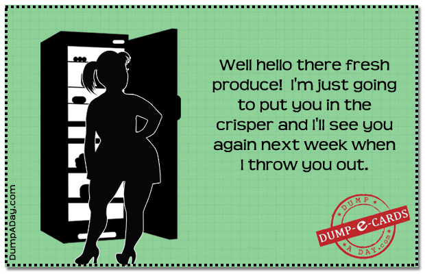 fresh produce Dump E-card