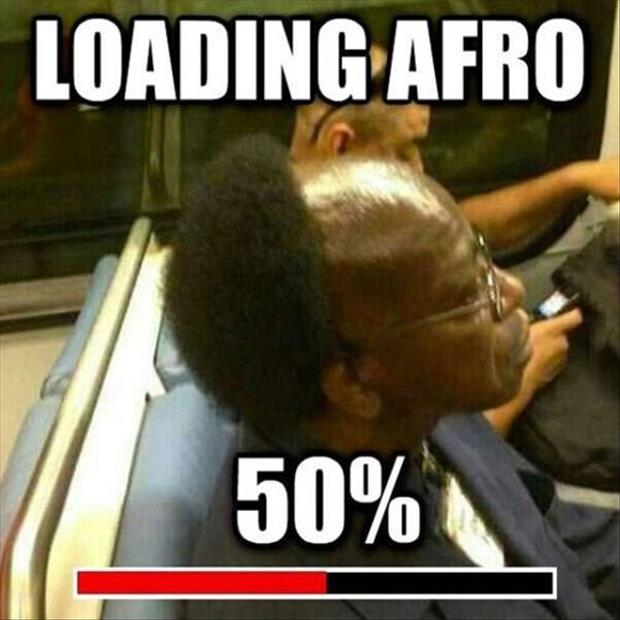 funny afro