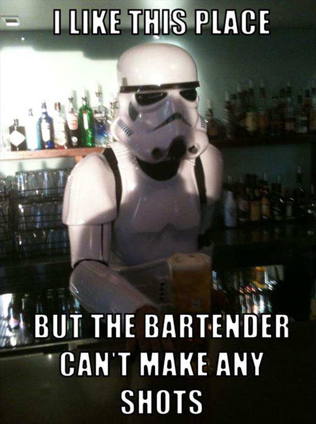 funny bartenders