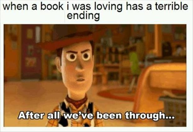 funny book has a bad ending