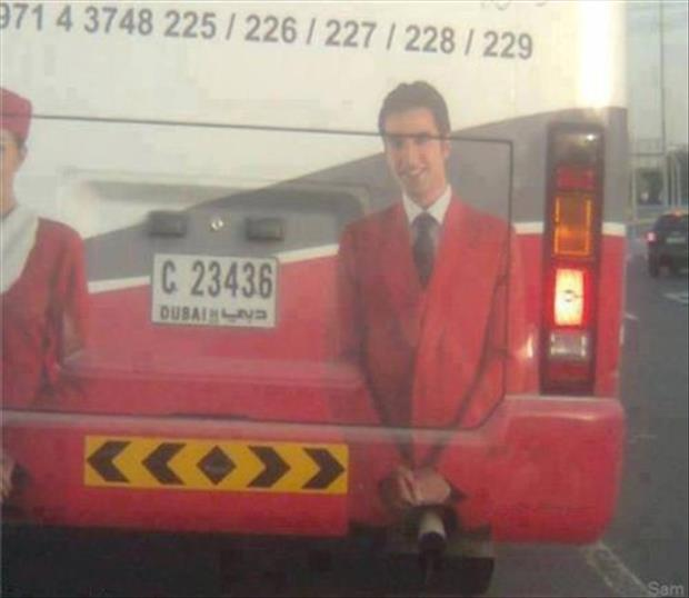funny bus painting