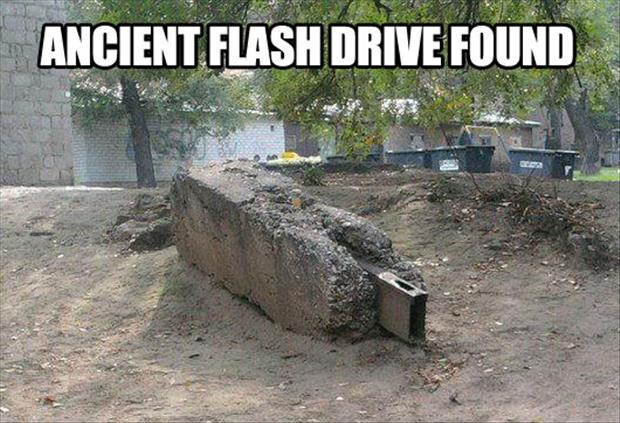 funny flash drive