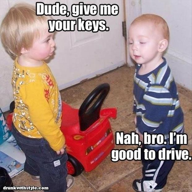 funny kids and their cars