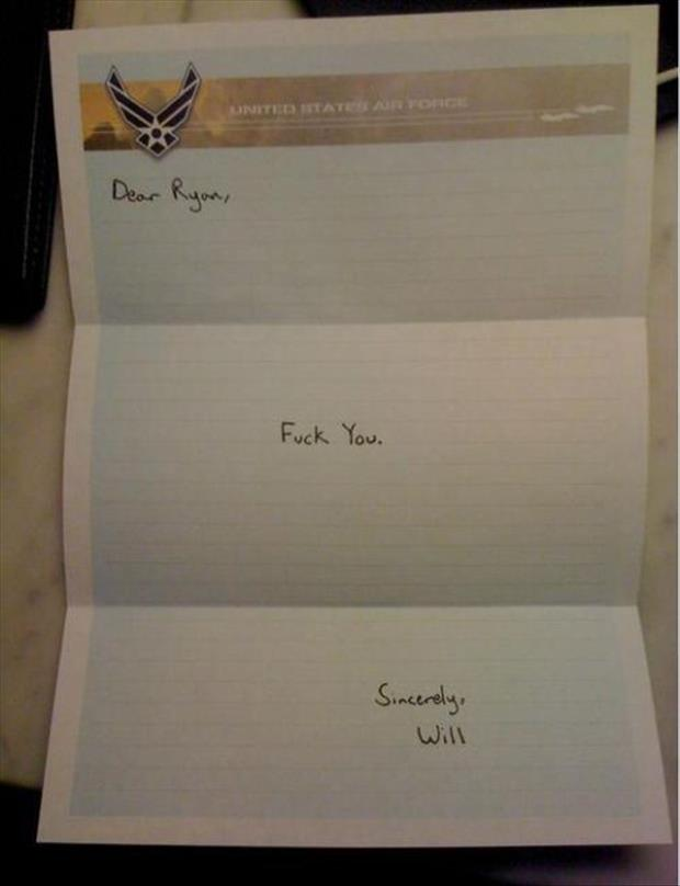 funny letters