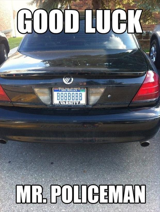funny license plate - Dump A Day