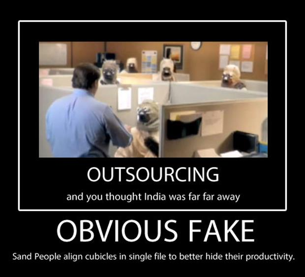 funny outsourcing