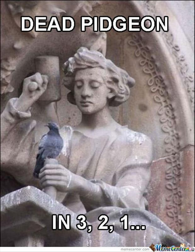 funny statues