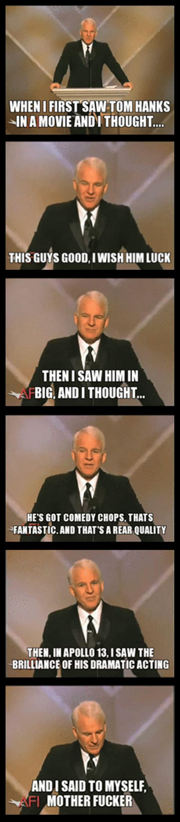 funny steve martin speach