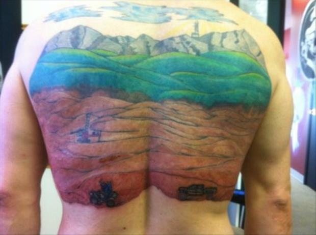 funny tattoos, dumpaday images (26)