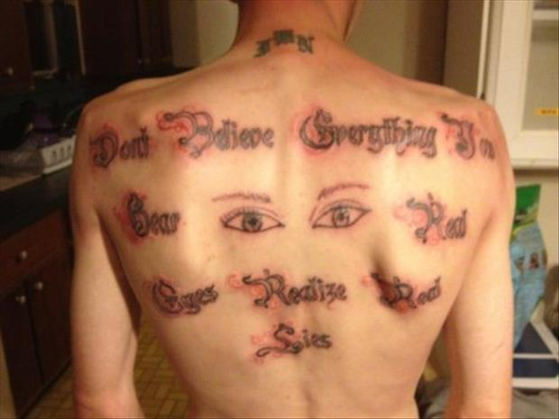 funny tattoos, dumpaday images (27)