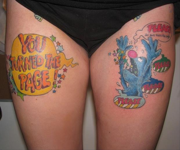 funny tattoos, dumpaday images (9)