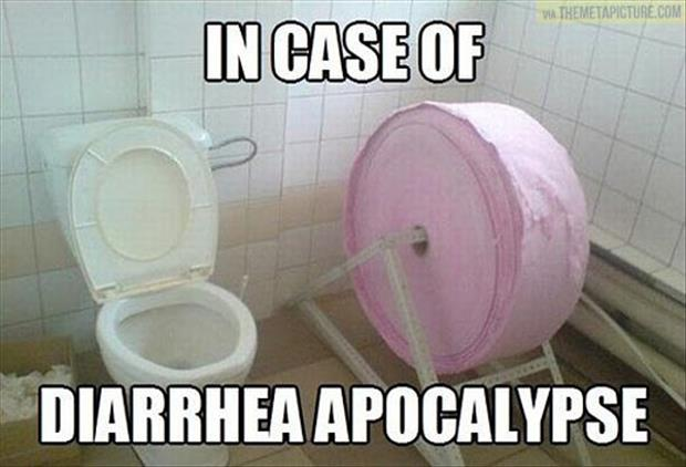 funny toilet paper Dump A Day