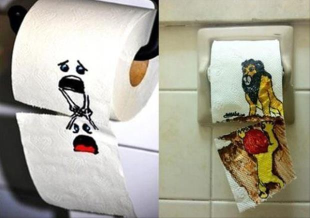 funny toilet paper