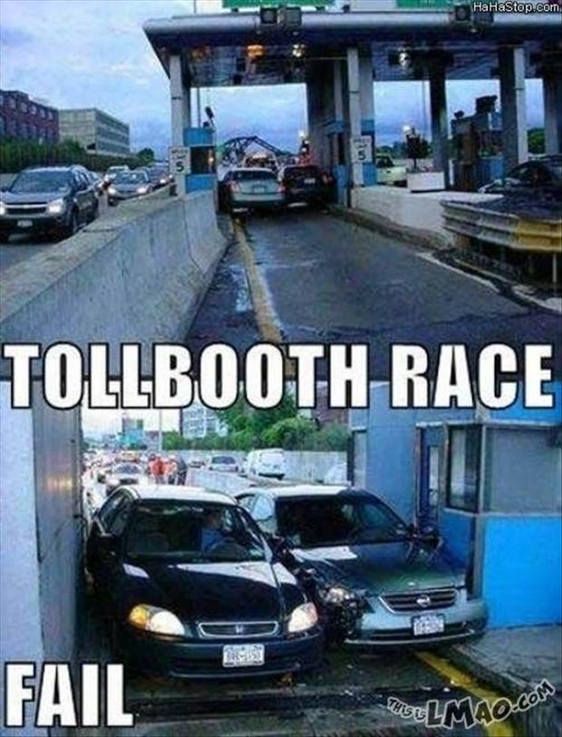 funny toll booth