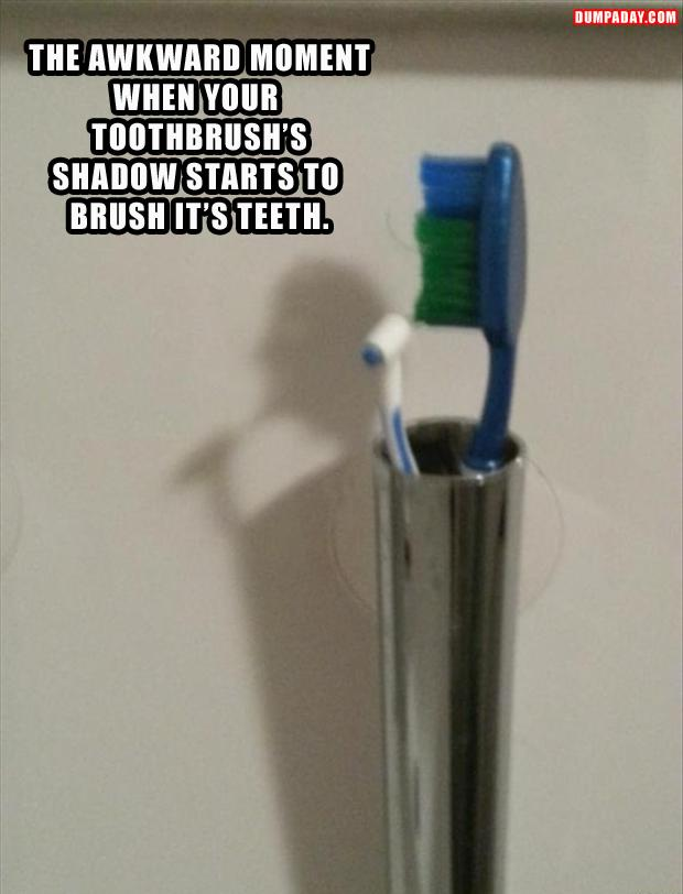 funny toothbrush