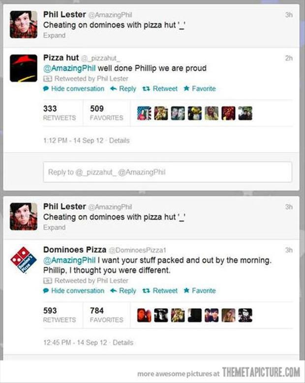 funny twitter quotes pizza