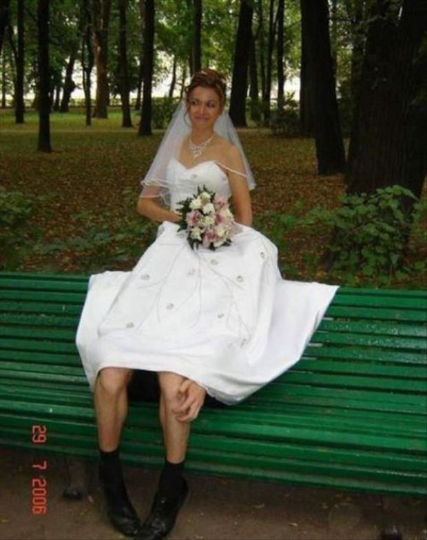 funny wedding pictures legs