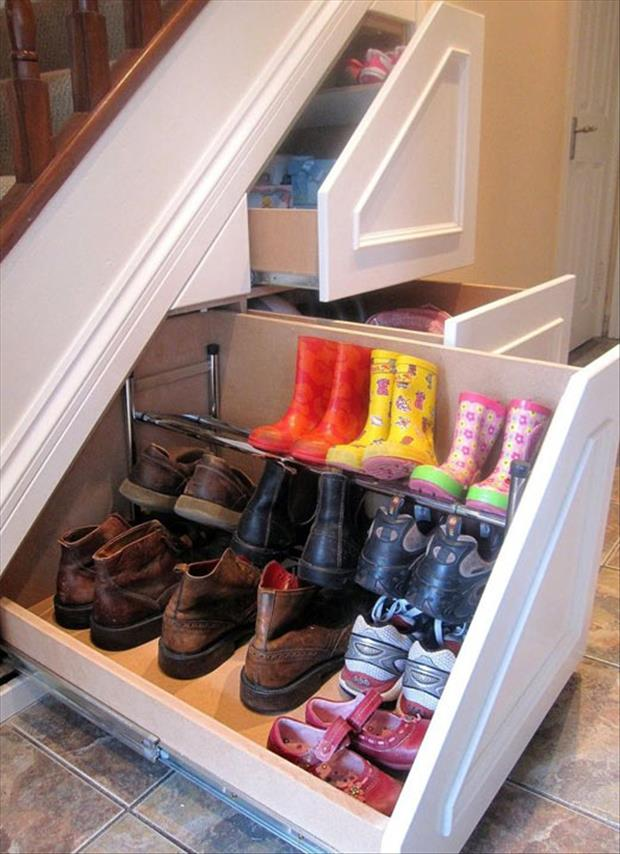 genius ideas shoe racks
