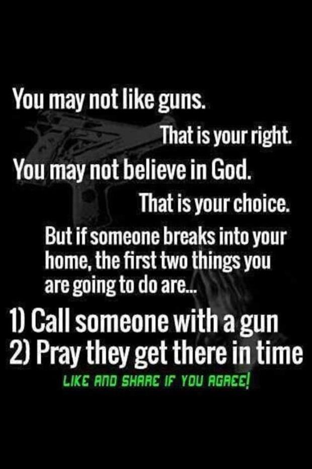 guns and god
