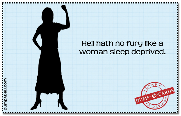 hell hath no fury Dump E-card