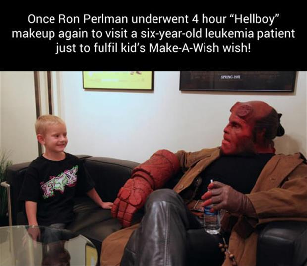 hellboy make a wish faith in humanity restored