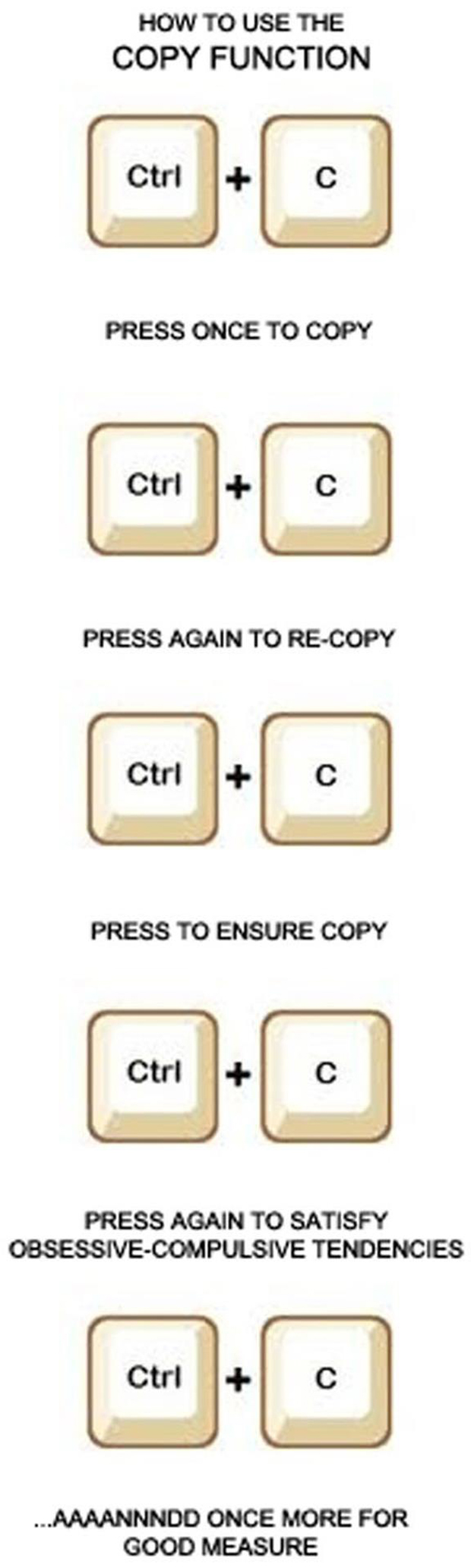 how to copy something