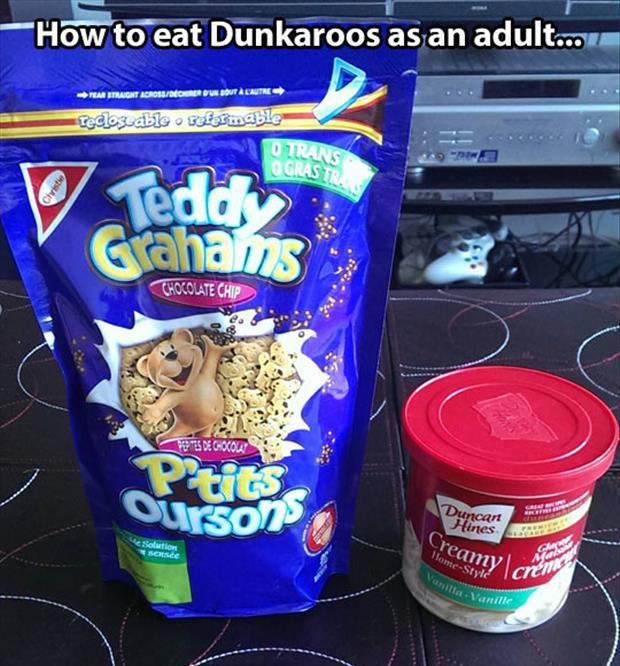 how to snack like an adult