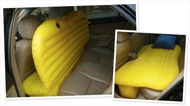 inflatable bed for your backseat