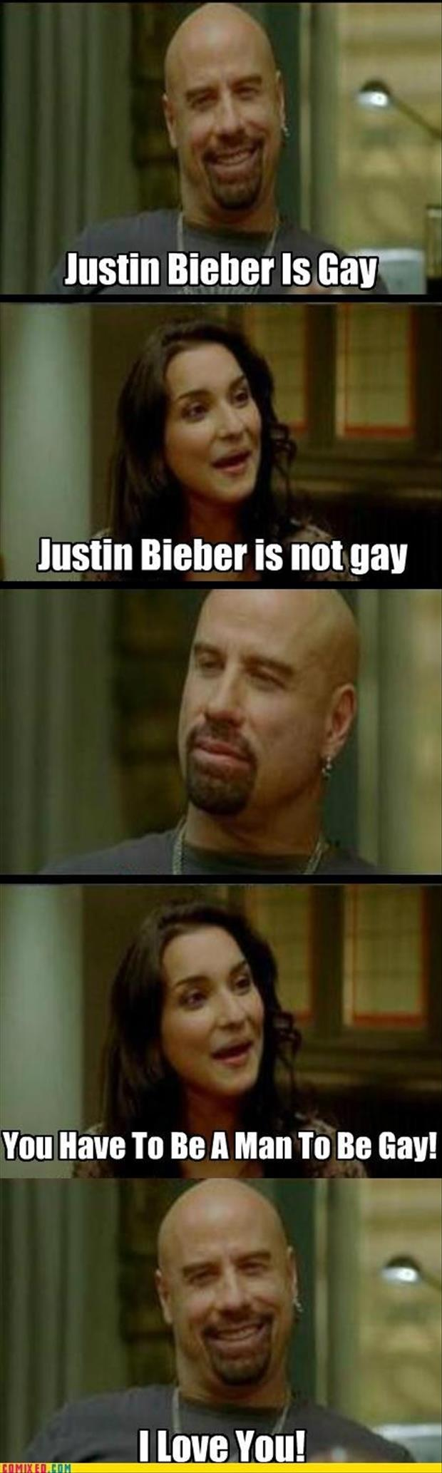 justin beiber is gay