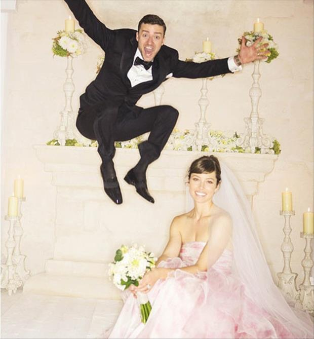 justin timberlake wedding pictures