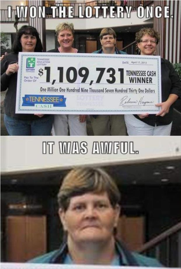 latest Lottery winner