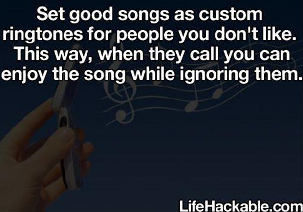 life hacks songs
