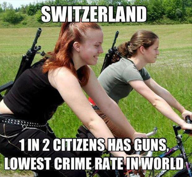 low crime rates