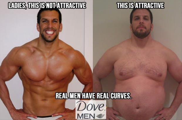 man for ladies have real curves