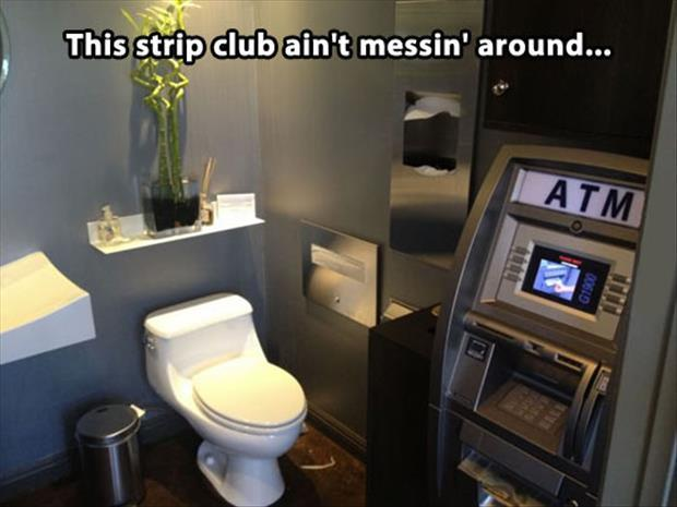 meanwhile at the strip club