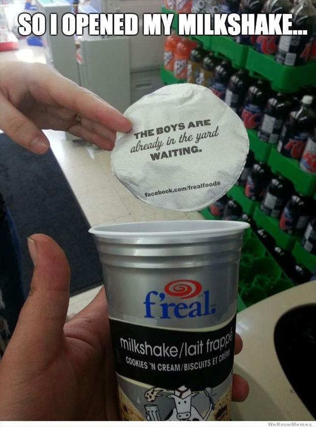 milkshake brings the boys to the yard