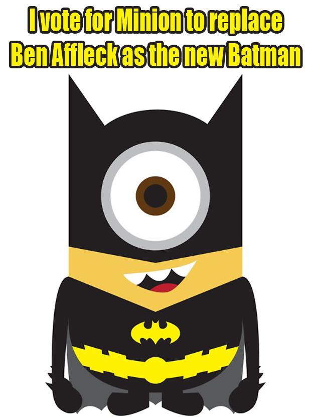 minion to play batman