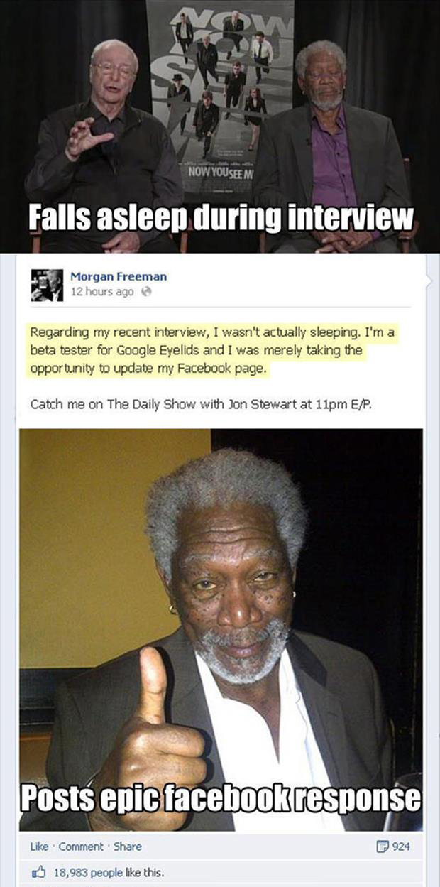 morgan freeman funny pictures
