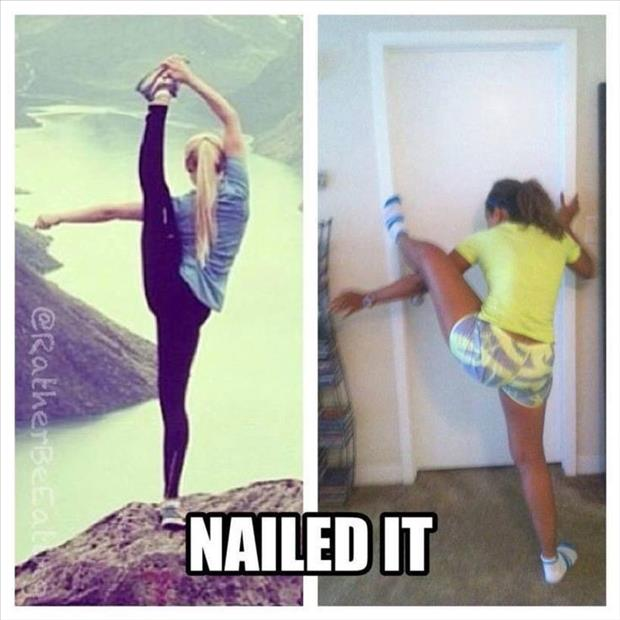 nailed it
