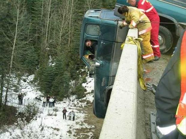 oh shit moments a truck accident