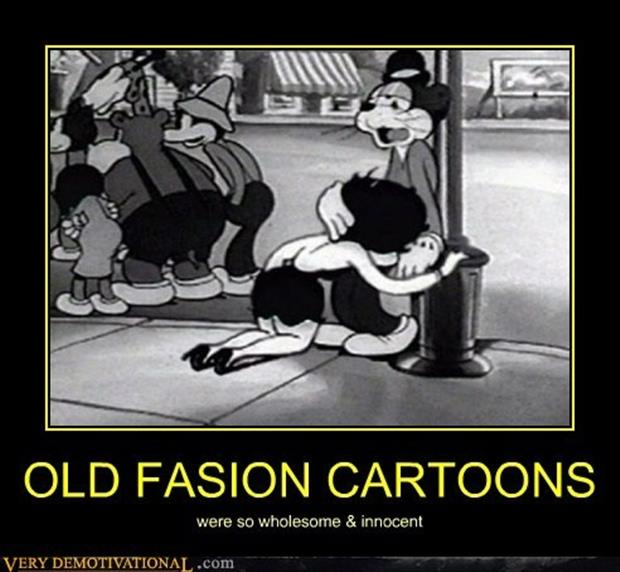 old fashion cartoons
